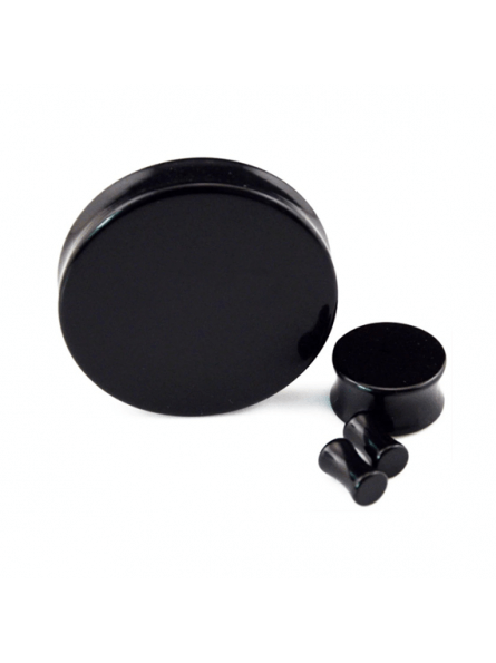 Plug negro acrilico para dilataciones