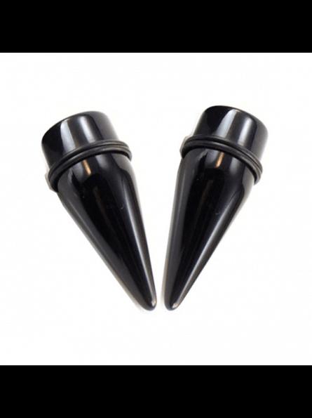 Taper de color negro para dilataciones