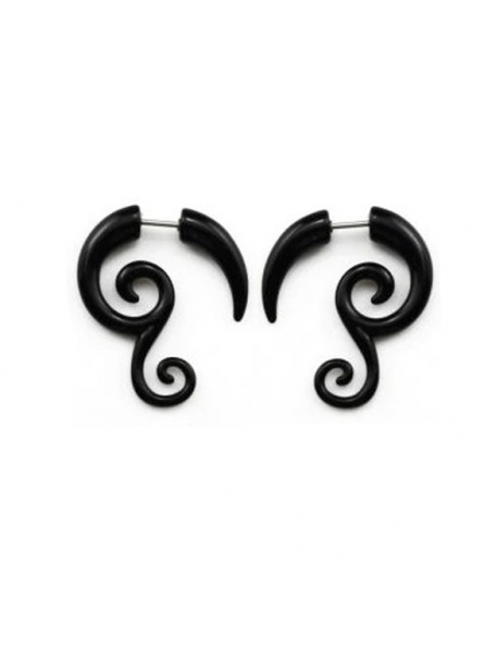 Piercing oreja falso
