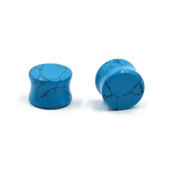 Plug azul marmol para dilataciones