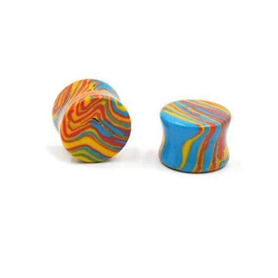 Plug multicolor para dilataciones