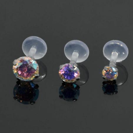 Piercing labio medusa o labret
