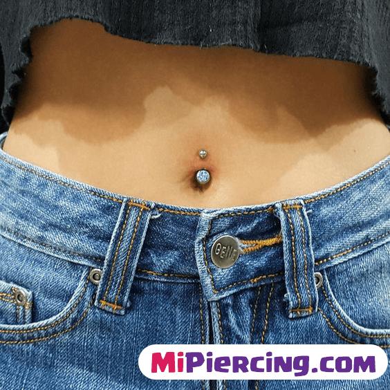 piercing ombligo mujer