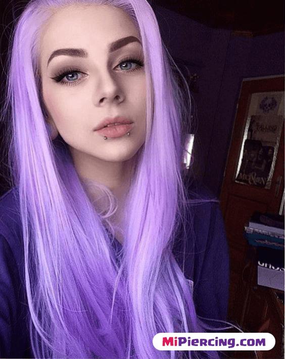 piercing en labio