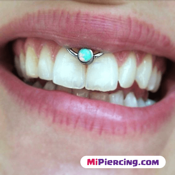 piercing smiley en chicos